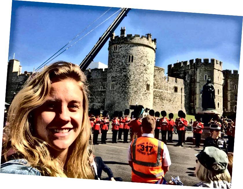 Vì vậy, đáng để thức dậy lúc 4 giờ sáng cho khung cảnh đám cưới Hoàng gia lâu đài này!
