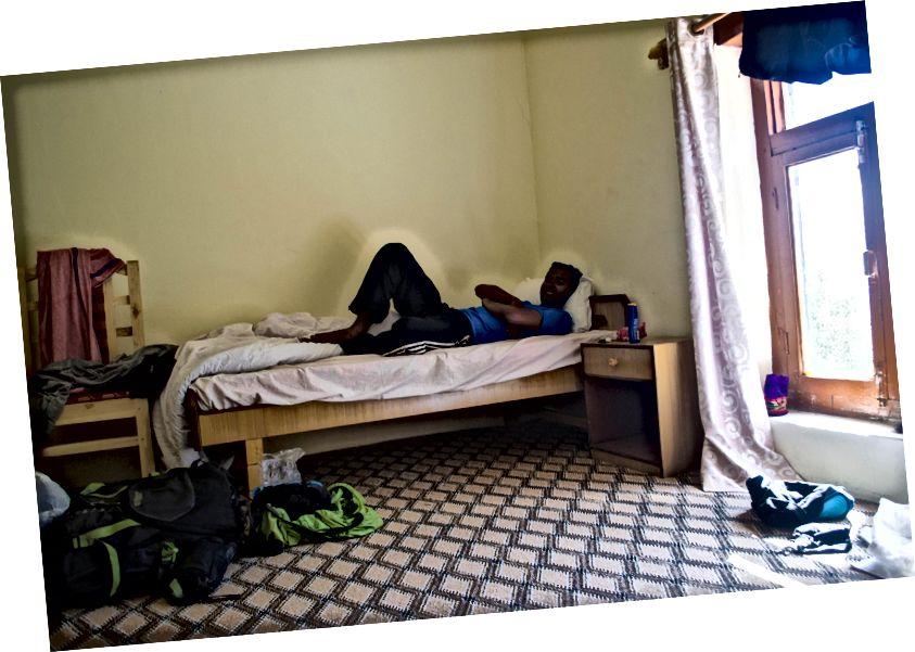 Пространа соба у манастиру Хемис