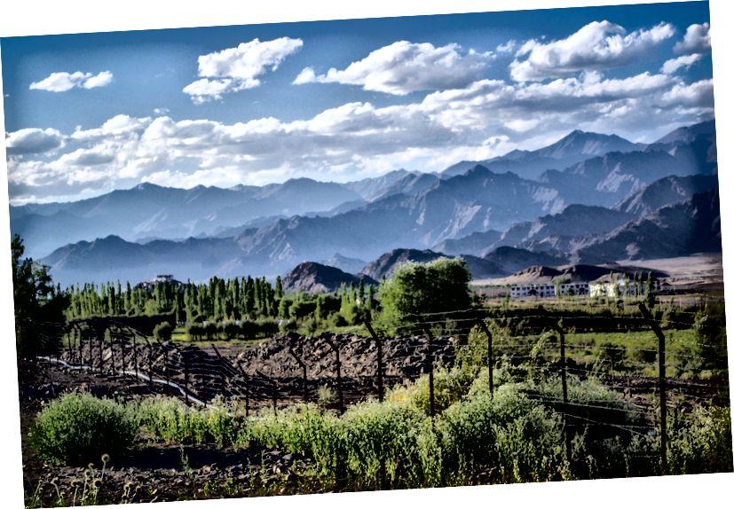 Предиван поглед на долину Ладакх