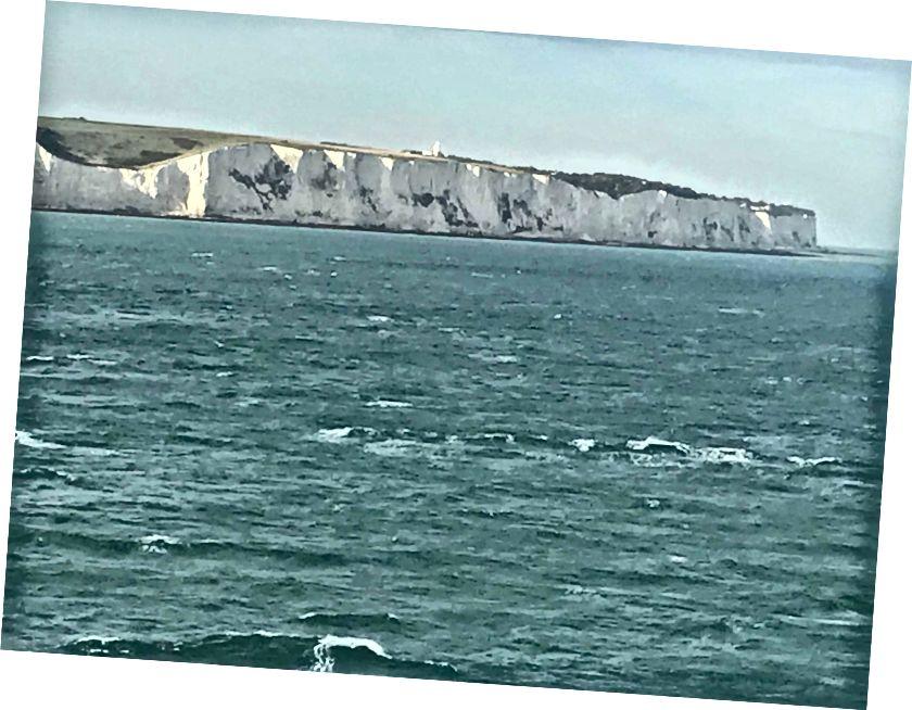Dover'ın Beyaz Kayalıklarına Veda Etmek Son Bir Kez