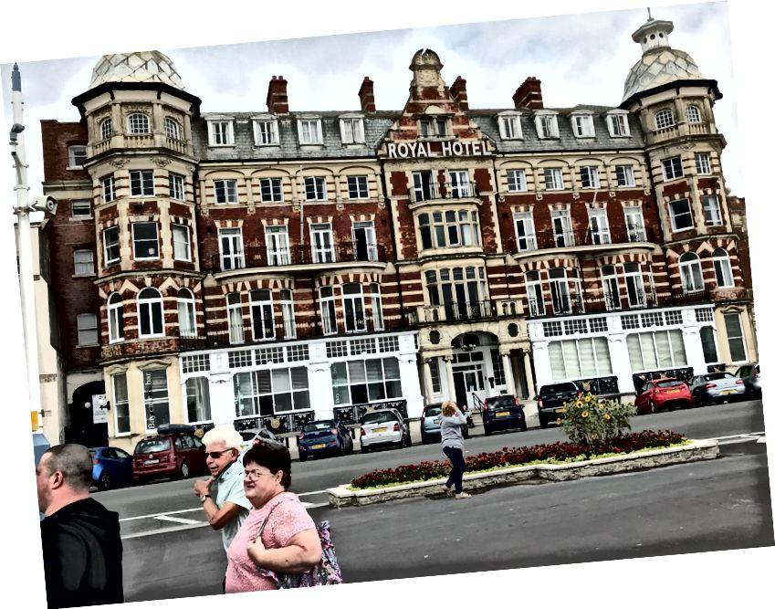 Weymouth gezinti yerinde otel