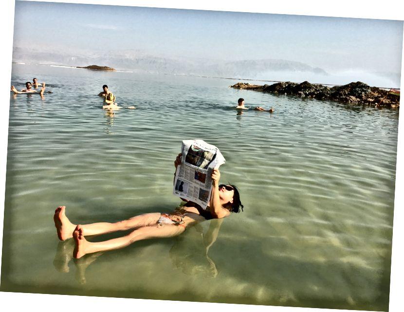 Блаженно буйний у Мертвому морі