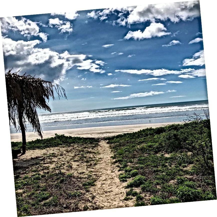 Playa Guinos Kasım ayında görünümünü