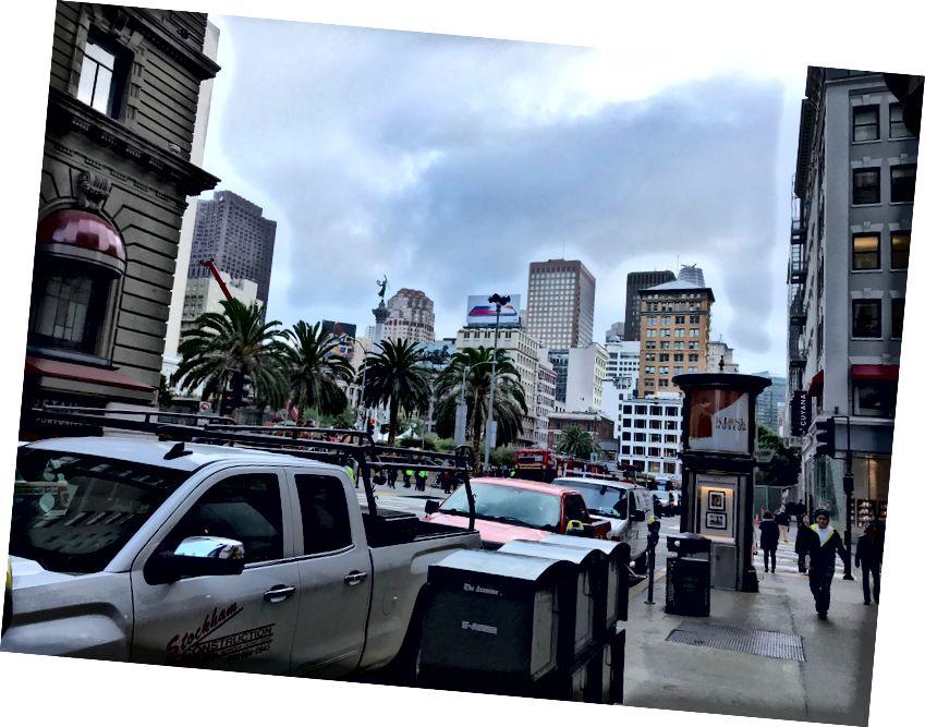 San Francisco şehrindeki Otelimizin Dışında