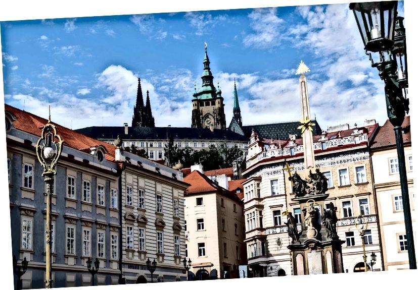 Lâu đài Prague, Prague, CZ - Tháng 10 năm 2016