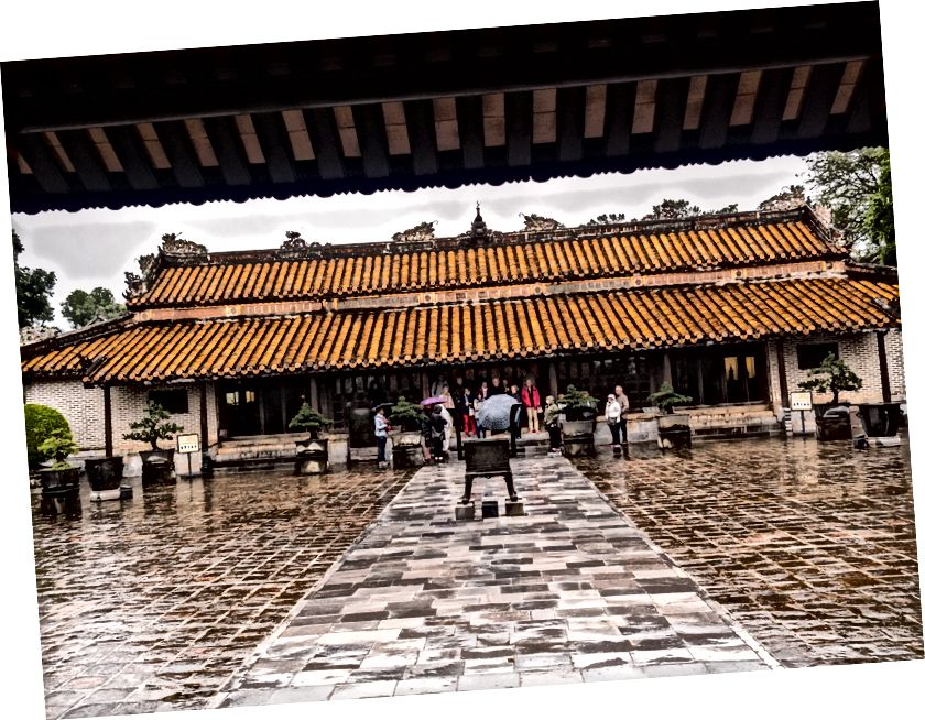 Hue'nun anıtsal alanlarından biri