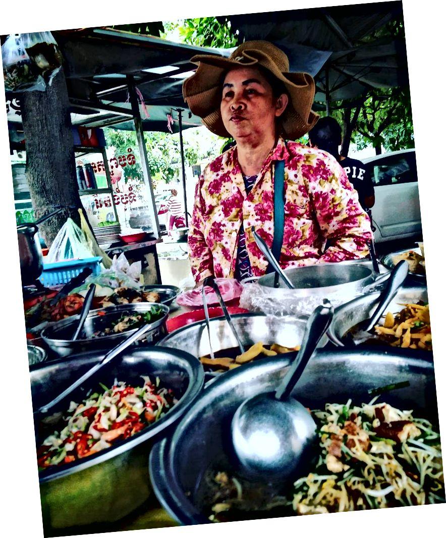 Камбоджі їжі