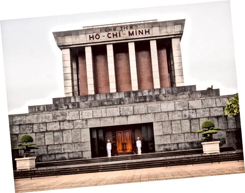 Başkan Ho Chi Minh'in Mozolesi
