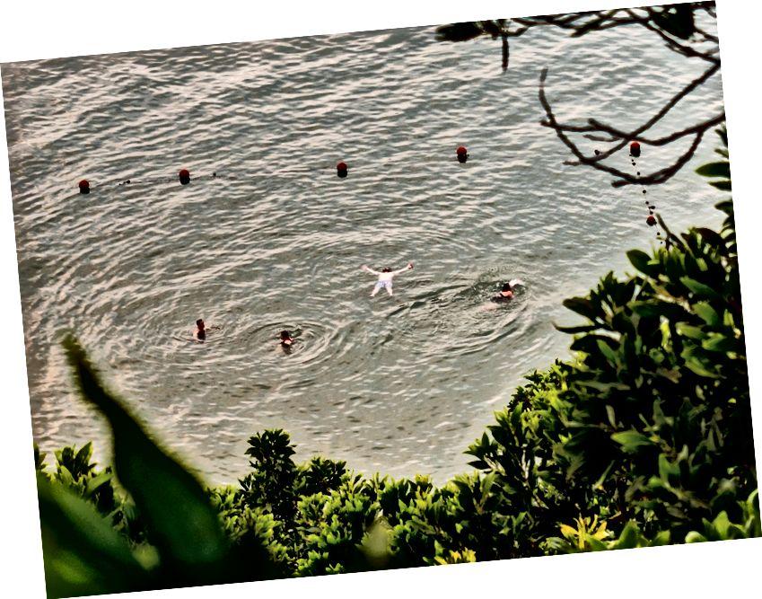Titop adasında yüzme