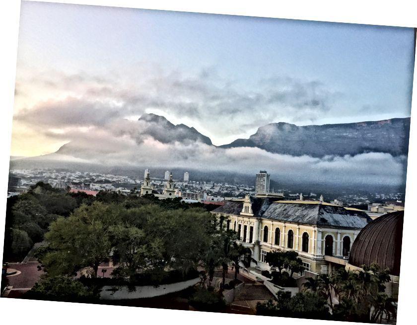 Cape Town, şirket bahçeleri - Image by Digital_lala