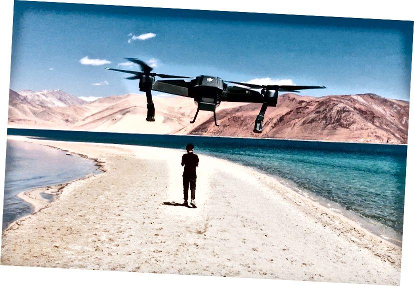 Nishit Ladakh gezisinde dolaşıyor