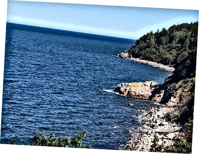 Một cảnh yêu thích khác - được thực hiện dọc theo Cabot Trail, Nova Scotia