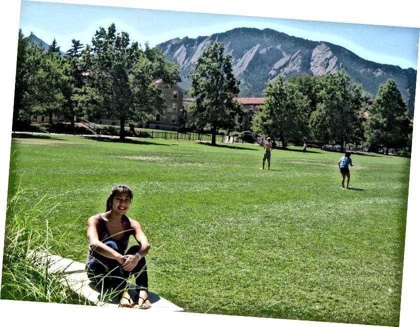 Боулдер, Колорадо (9/5/11) - Фото автора: Lindsey Lazarte