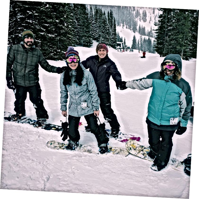 Гірськолижна зона Ловеленда (4/1/16) - Фото автора: Lindsey Lazarte