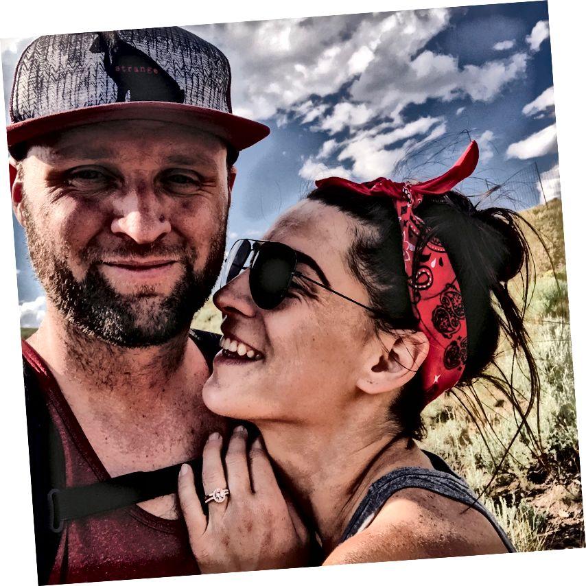 Yellowstone'da bir yerde kayıp ve aşık