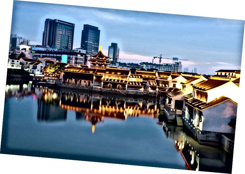 Lansekap Suzhou yang menawan