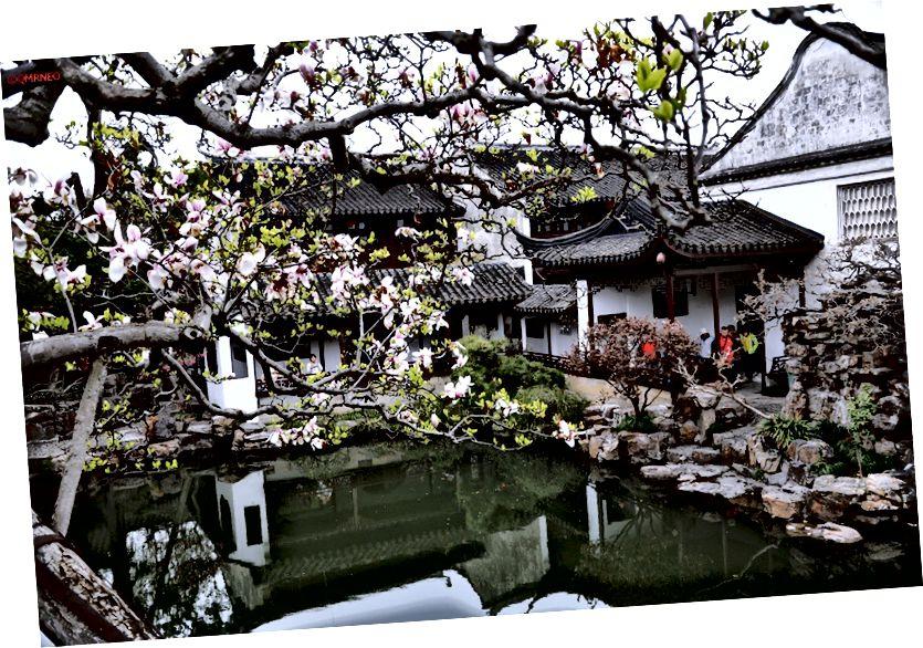 Taman klasik di Suzhou