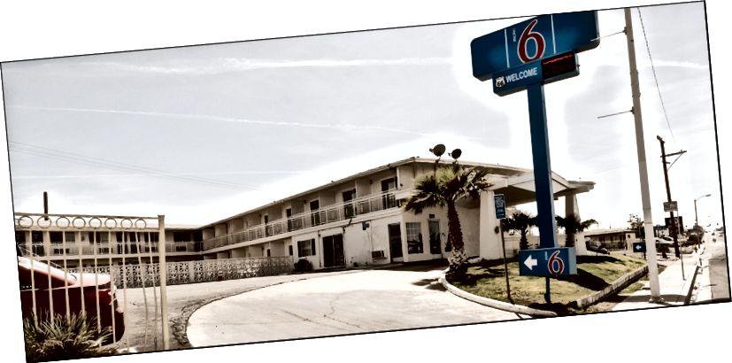 Мотель 6 - Майн Сент, Барстоу, Каліфорнія. 4–10–2018