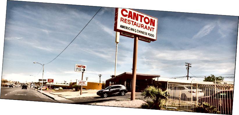 Ресторан Кантона, головний St, Barstow CA. 4–10–2018