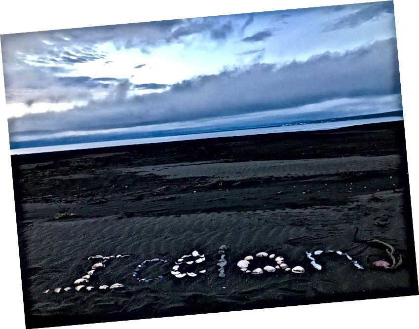 Bãi biển riêng ở Bắc Iceland - Tháng 8 năm 2017 - Ảnh của tôi.