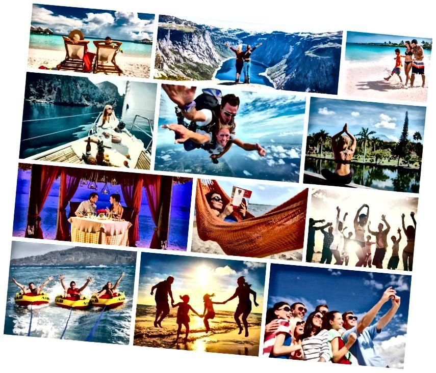 Nhu cầu kỳ nghỉ khác nhau cho khách du lịch khác nhau