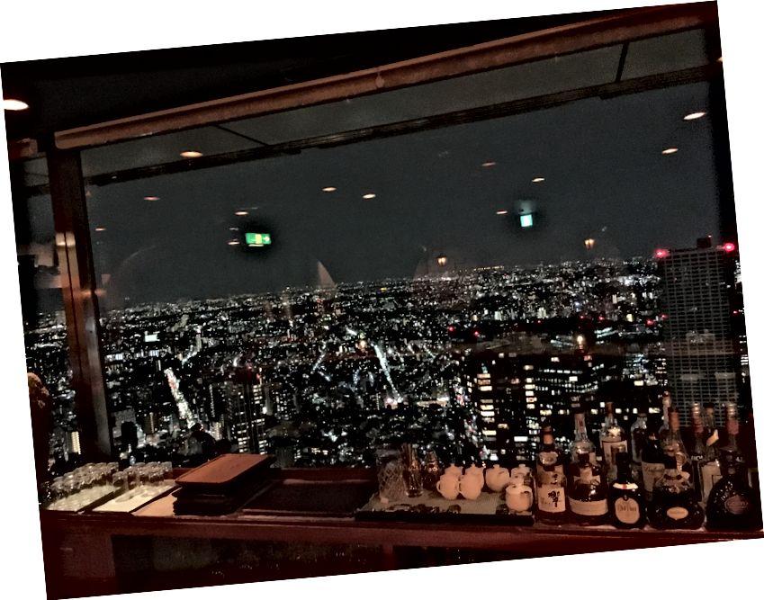 Vista de Tokio desde Shinjuku