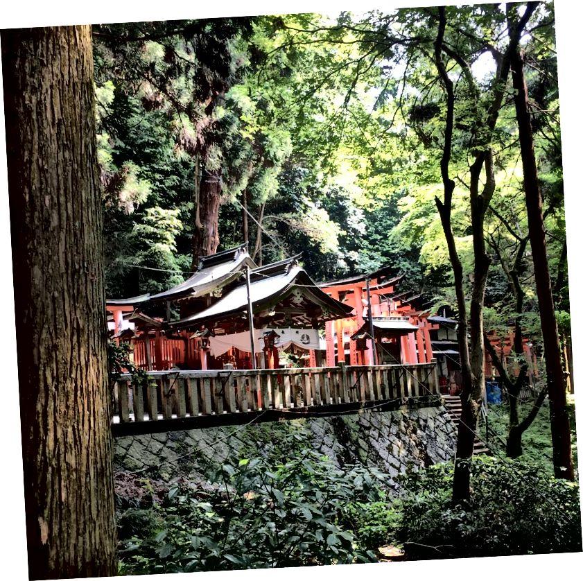 Monte Inari en Kyoto
