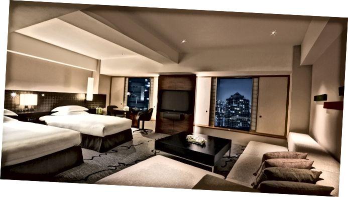 Hotel Hilton en Shinjuku, Tokio