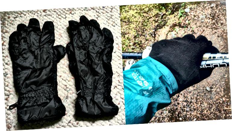 왼쪽 : 내가 유감스럽게 집으로 보낸 것. 오른쪽 : 필자의 오래된 장갑을 필사적으로 원했을 때 내가 본 것.