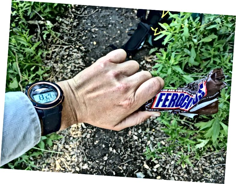 8:26 a Timestamp Snickers.