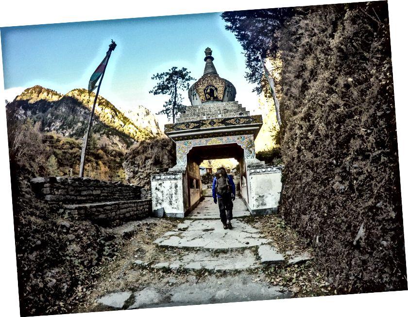 Peaaegu igas Annapurna ringraja külas on need kaunilt nikerdatud väravad | See Chame'ist lahkudes suundub Ülem-Pisang / Ghyaru