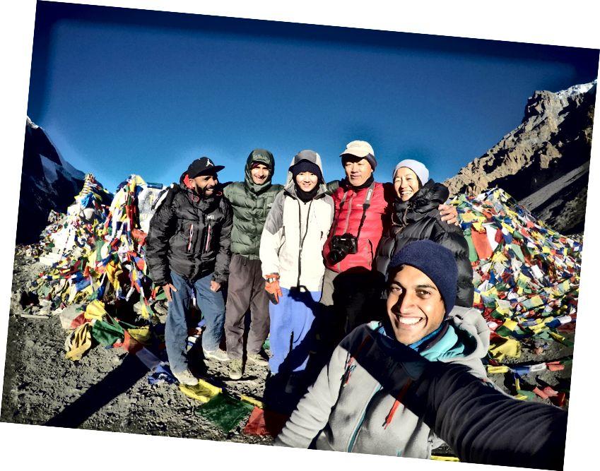 Kohtas Thorongi laagri lahedaid inimesi, kes olid selles naeruväärses passis piisavalt rõvedad, et saada naeratav pilt.