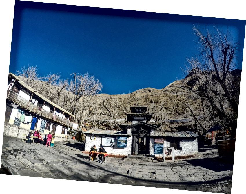 Kuil Muktinath yang indah