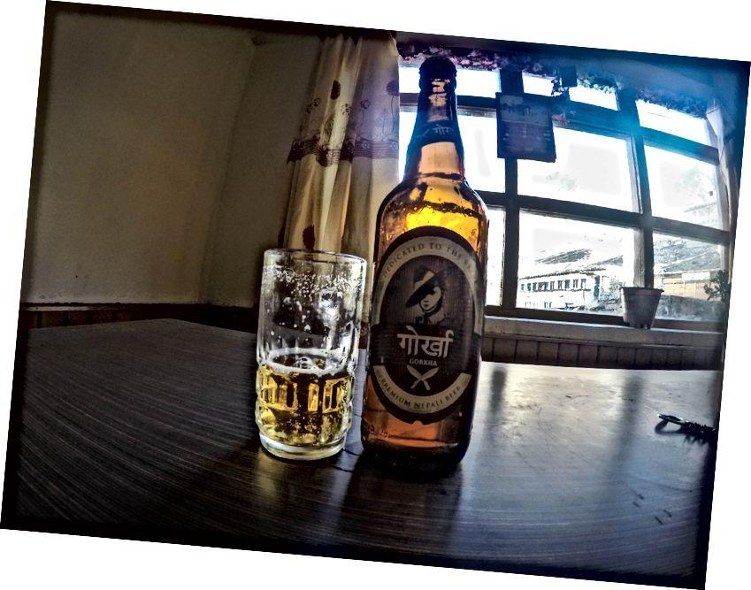 Najgorsze piwo w Nepalu ..