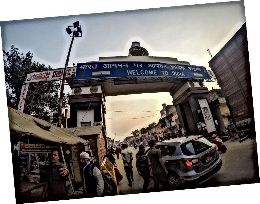 انڈیا میں خوش آمدید