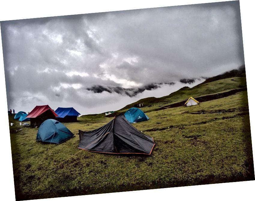 Khu cắm trại tại Bedni Bugyal