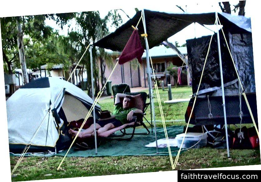 Gavan làm việc - Saint George Queensland Úc