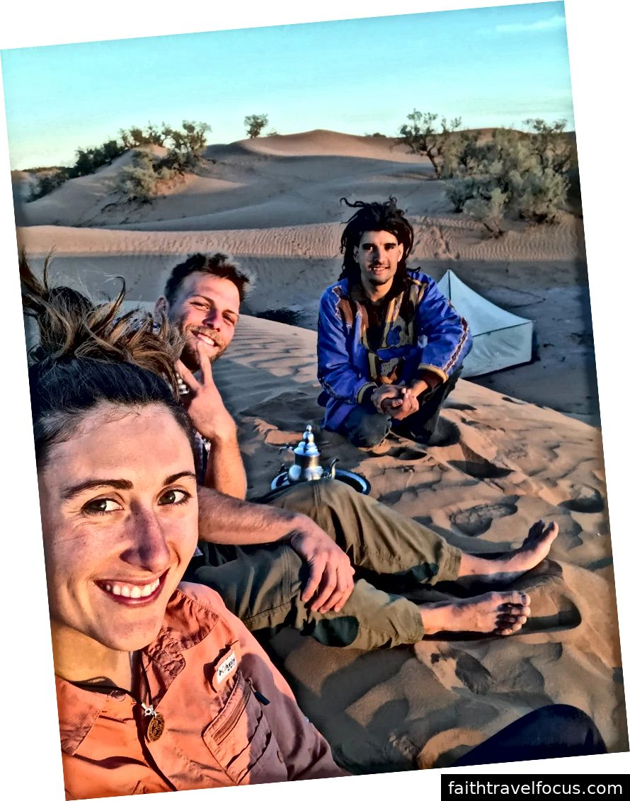 Trà Dune với Mustafa