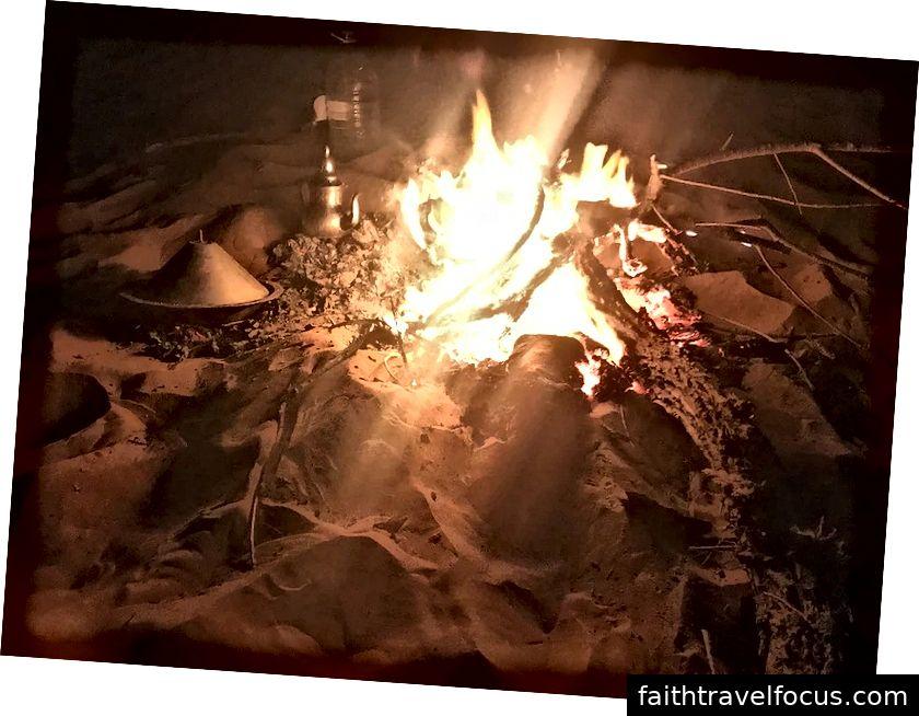 Tajin và trà nấu bằng lửa