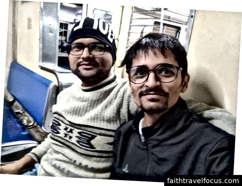 Bhushan, người bạn 5:00 sáng của tôi đã đến gặp tôi vào buổi sáng.