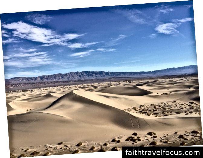Đồi cát phẳng Mesquite