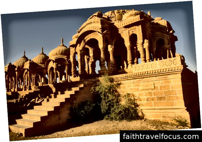 Pháo đài Jaisalmer nằm ở thành phố Jaisalmer, thuộc bang Rajasthan, Ấn Độ.