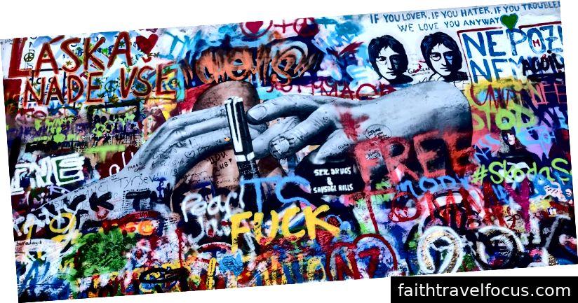 Bức tường Lennon ở Prague, Cộng hòa Séc