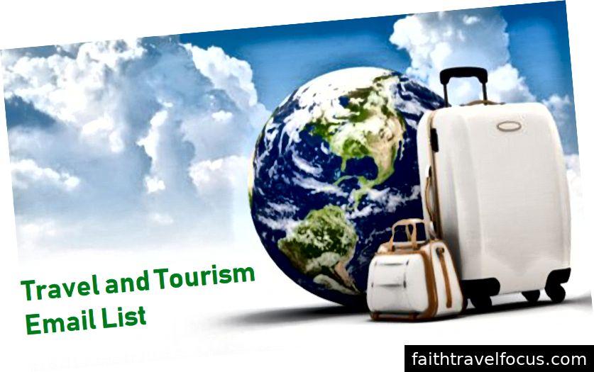Danh sách Email Du lịch và Du lịch