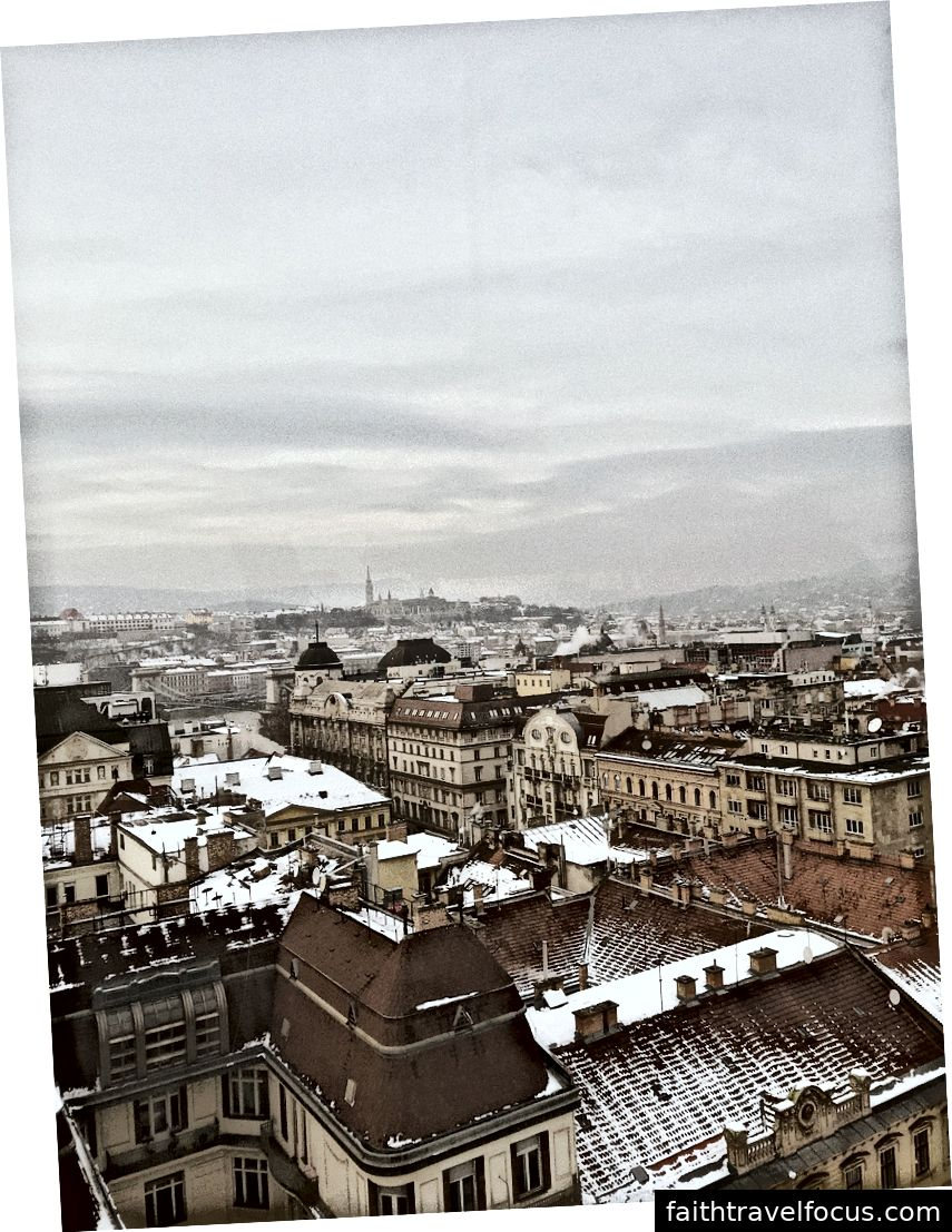 Thành phố scape, nhìn từ Mắt Budapest