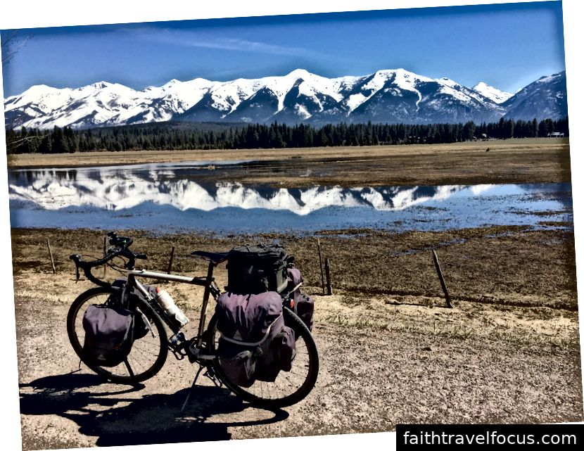 Dãy núi Swan của Montana.