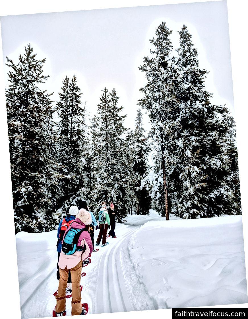 Xin chân thành cảm ơn BYU Outwhere Unlimited cho thuê snowshoe