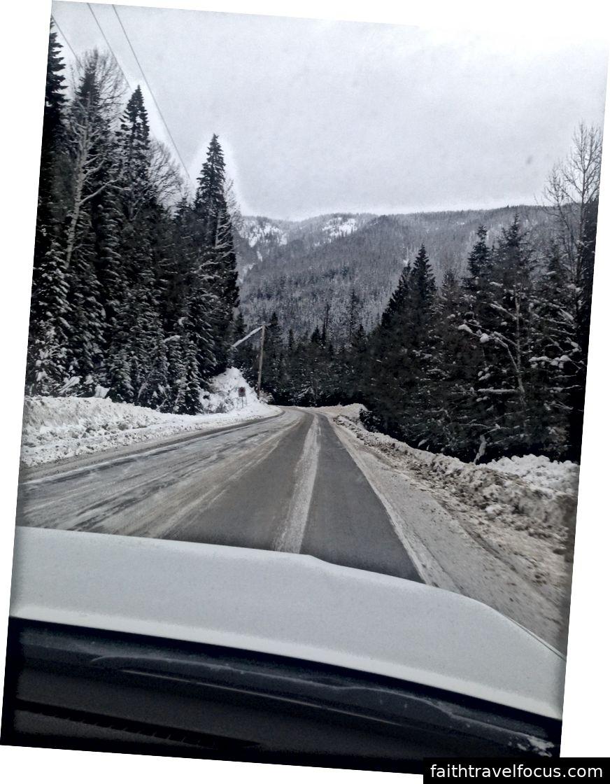 Chúng tôi đã nhận được rất nhiều tuyết mới, điều đó thật tuyệt nhưng đôi khi lại khiến chúng tôi rất nhiều lông. Con đường này chúng tôi ớn lạnh; tuy nhiên, tôi đã tuyên thệ giữ bí mật về những gì đã xảy ra ở thị trấn Trail băng giá.