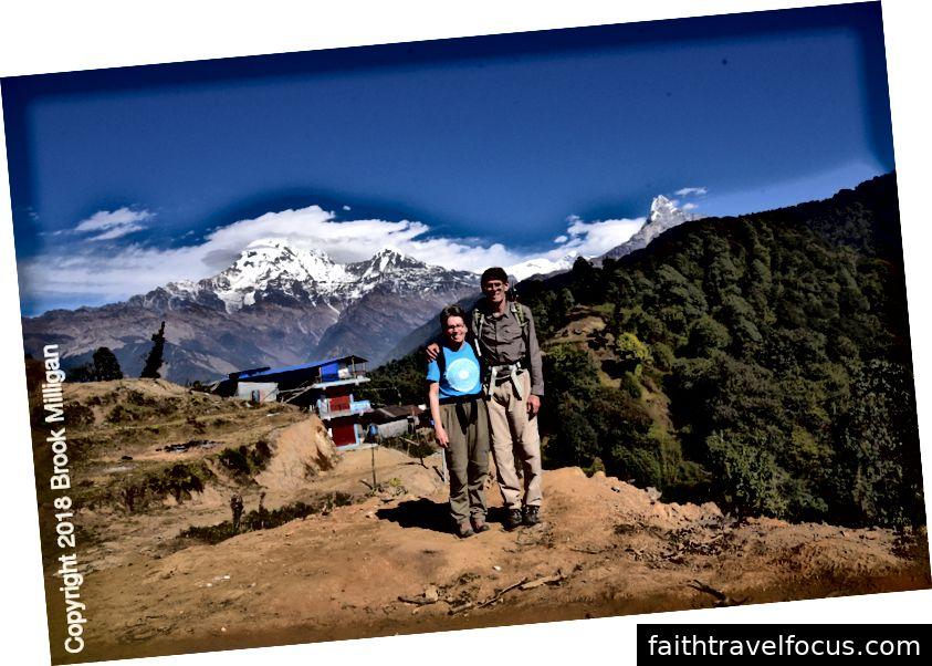 Chúng tôi đi dọc theo sườn núi này khá nhiều cách.