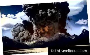 Nghệ sĩ miêu tả Yellowstone thổi đầu của nó